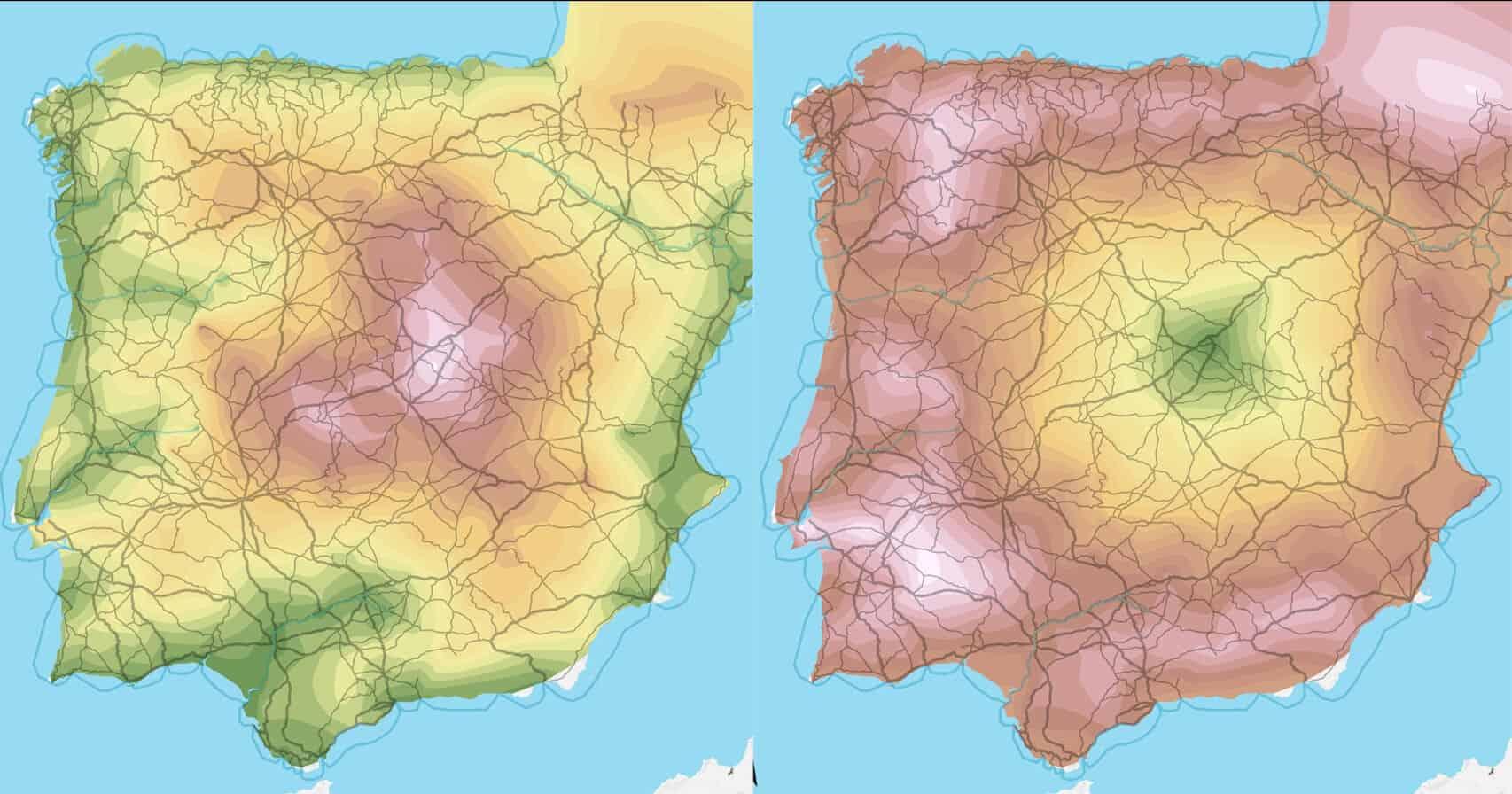 Hispania romana costes transporte