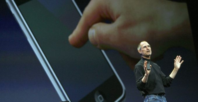 Steve Jobs iPhone presentation