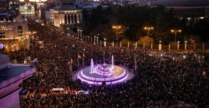 Madrid Manifestación 8M