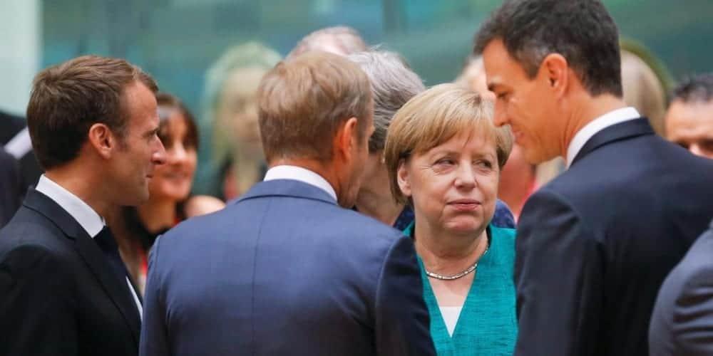 Merkel Macron Sanchez