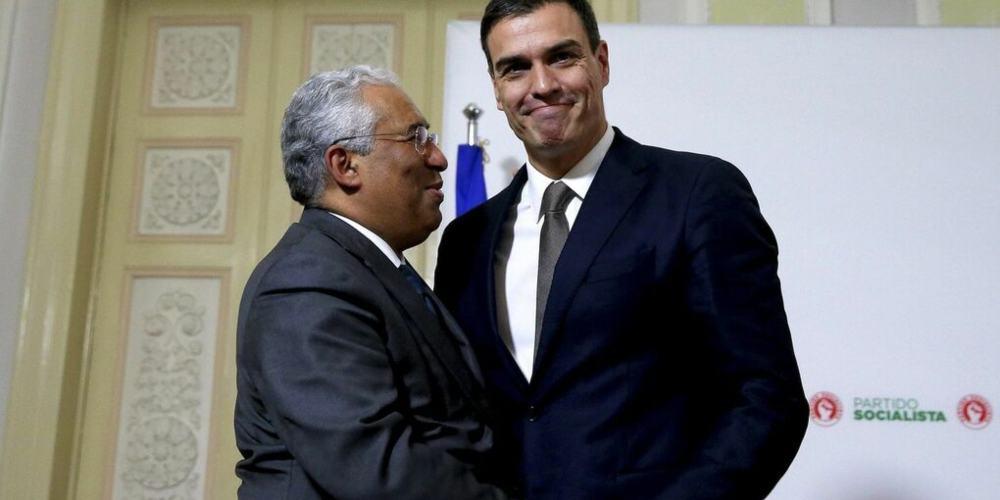 Pedro Sánchez Antonio Costa