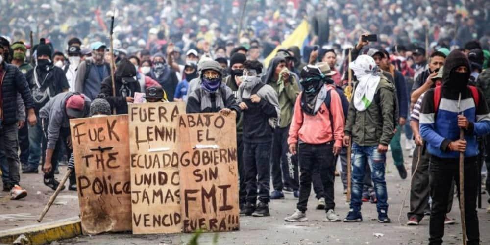 Disturbios Ecuador