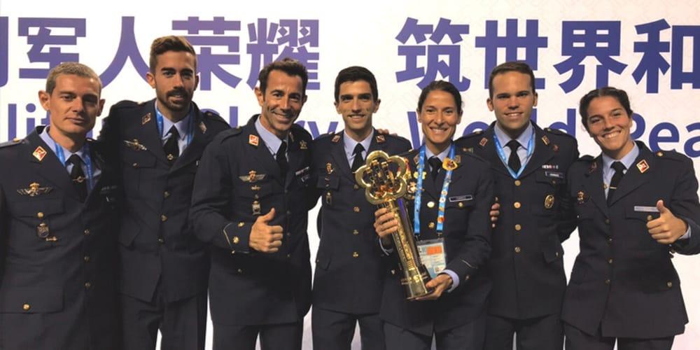 España Wuhan Juegos Militares