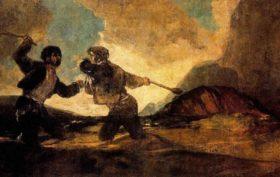 Goya duelo a garrotazos