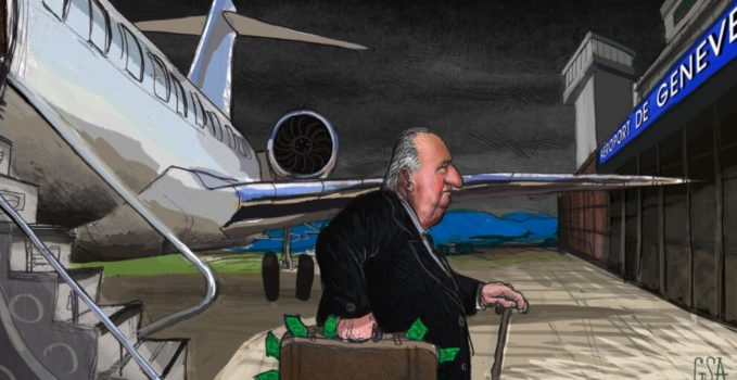 Juan Carlos maletín Ginebra