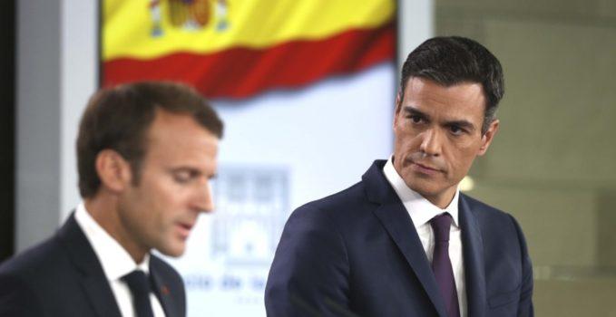 Macron Sánchez