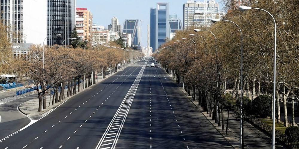 Madrid vacío COVID-19
