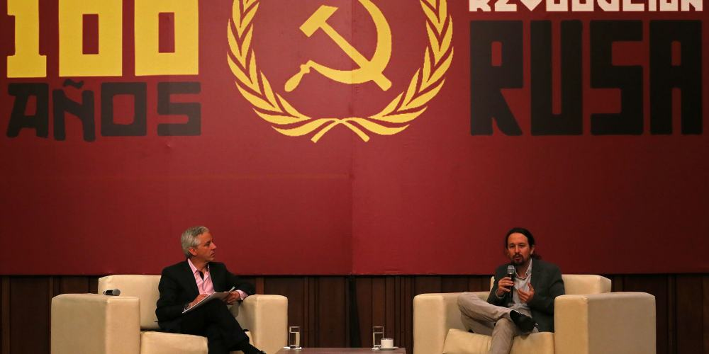 Pablo Iglesias 100 años comunismo