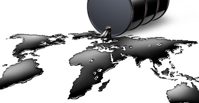 Petróleo mapa mundi