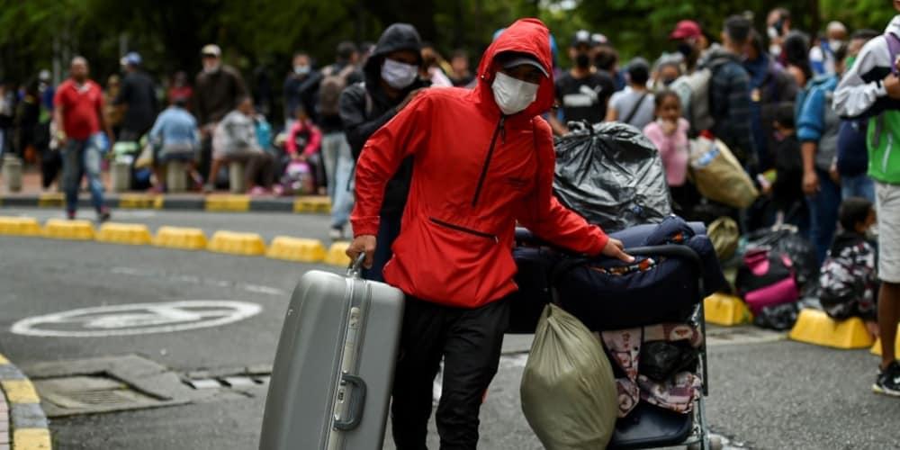 Pandemia provoca retorno venezolanos