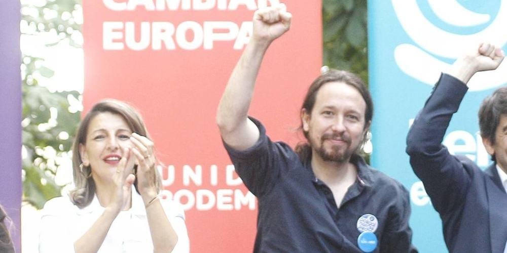Yolanda Días comunista Pablo Iglesias