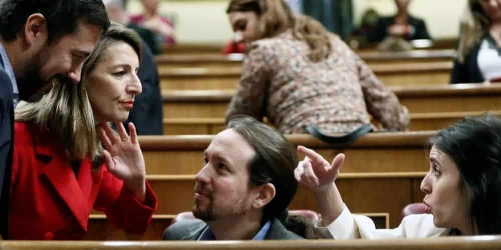 Yolanda Díaz Podemos PCG