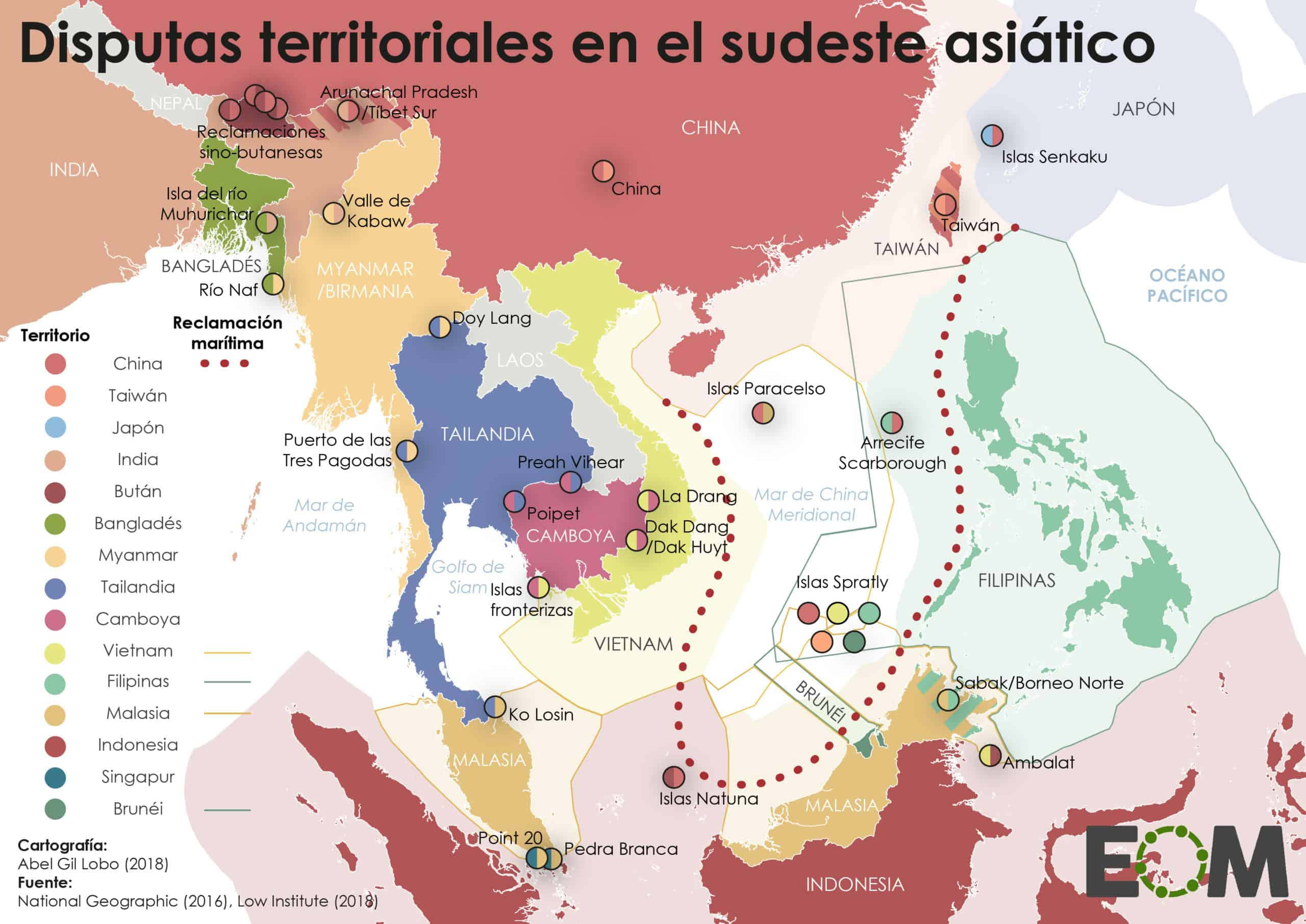 China disputas territoriales