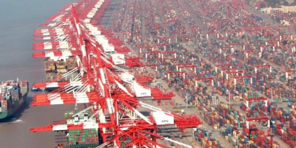 China puerto exportaciones