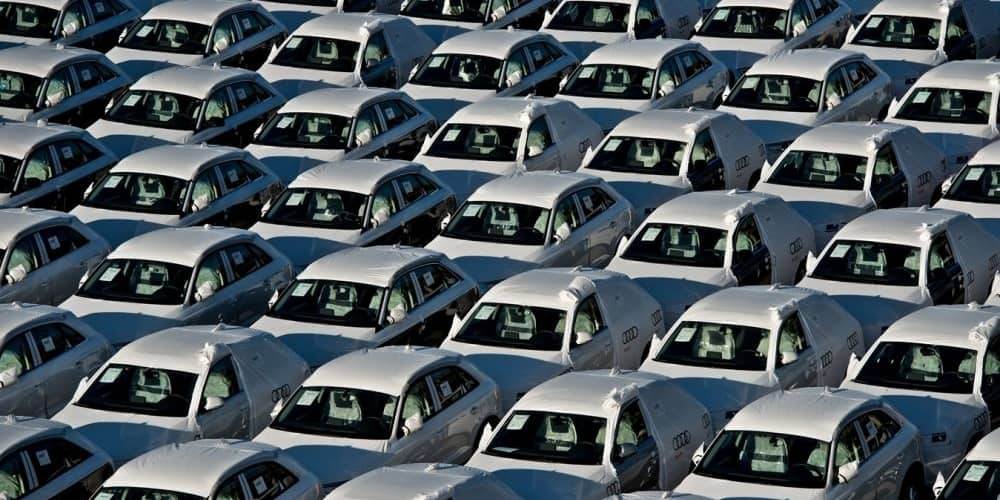 coches almacenados