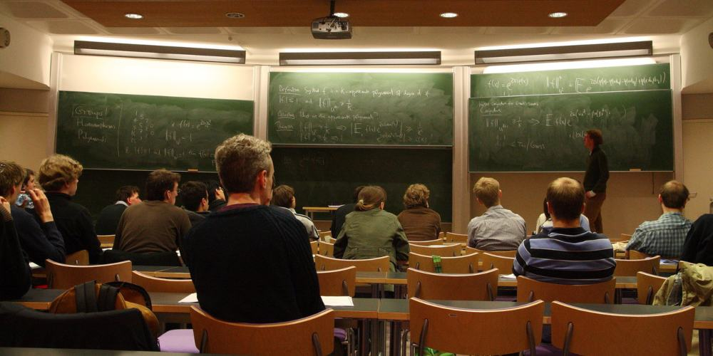 Clase de matemáticas