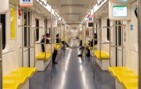 Metro vacío por el COVID-19