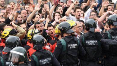 España manifestación Policía