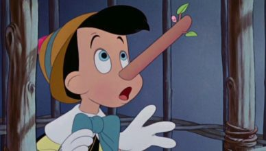Pinocho nariz