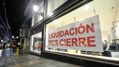 Comercio liquidación por cierre
