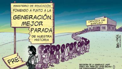 España desempleo juvenil