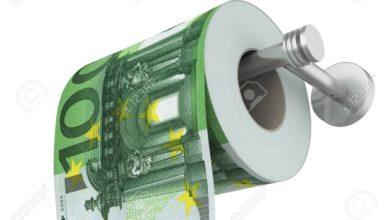 Euro papel higiénico