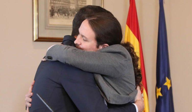 Sánchez Iglesias abrazo