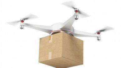 Dron paquete