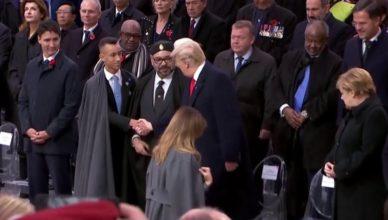 Trump Mohammed VI