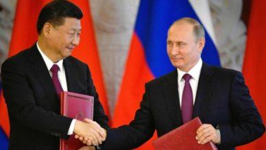 Xi Jinping - Putin