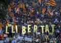 Cataluña - Manifestación por la independencia