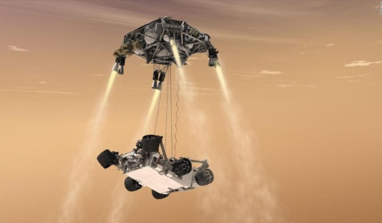 Mars - Rover Landing
