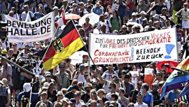 Alemania protestas pandemia