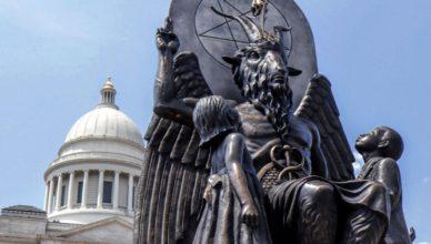 Estatua de Satanás