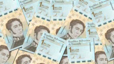 Venezuela - Billete millón bolívares