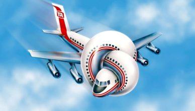 Turismo problemas avión nudo
