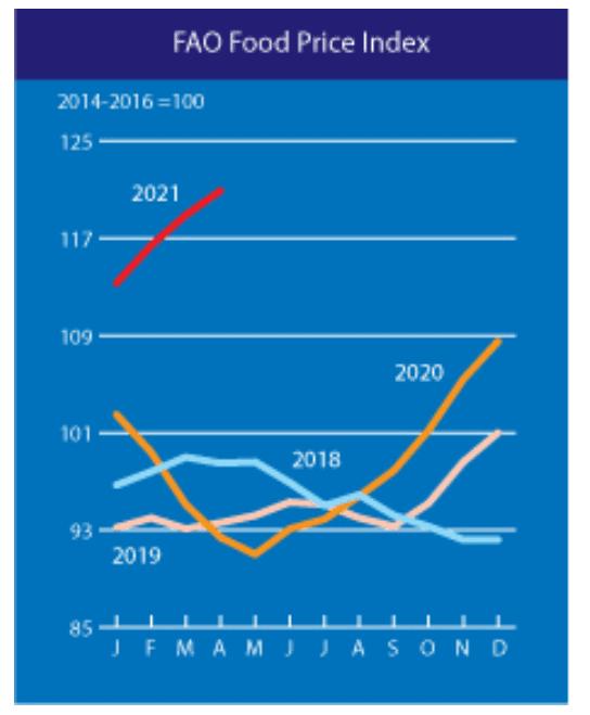 Alimentación - Inflación 2021 - 1
