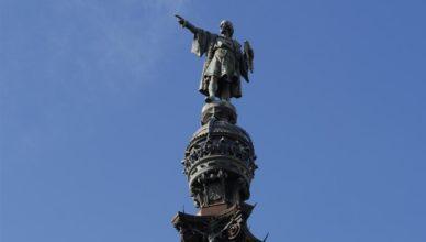 Colón estatua - Barcelona