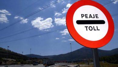 Peaje autovía autopista