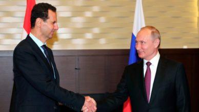 Putin Assad Siria