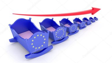 UE - Descenso de la natalidad