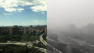China Beijing Contaminación