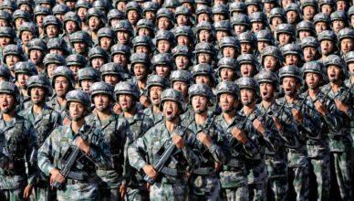 China tropas