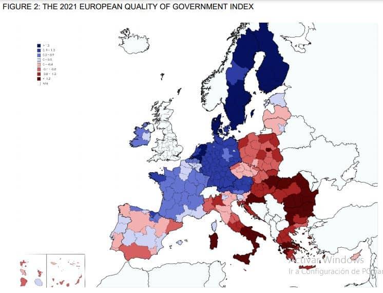 UE - Government Quality - 2020