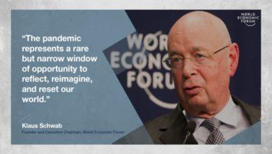 WEF - Pandemic - Klaus Schwab
