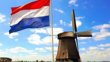Holanda bandera molino