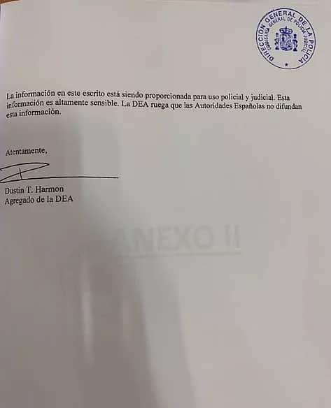 Venezuela - Pollo Carvajal - DEA Documento - 2